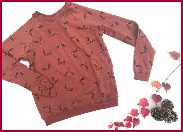 maple seeds SYAS sweater
