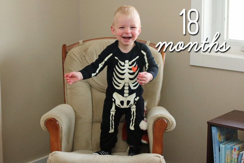 Jonathan is 18 Months Old!