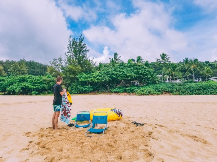 Oahu Beach Guide - A Perogy and Panda Hawaii Travel Guide - Keiki Beach