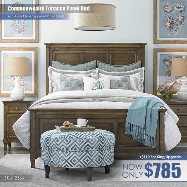 Commonwealth Tobacco Panel Bed_2564-K159A-FA15