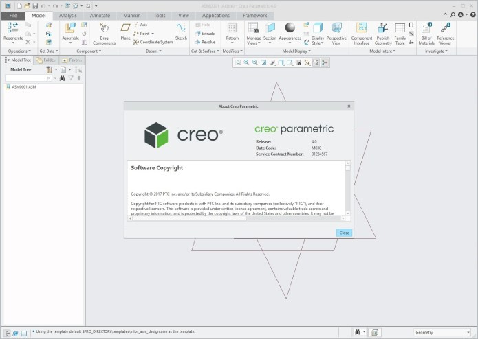 Design with PTC Creo parametric 4.0 M030 full crack