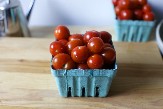 one pound of cherry tomatoes