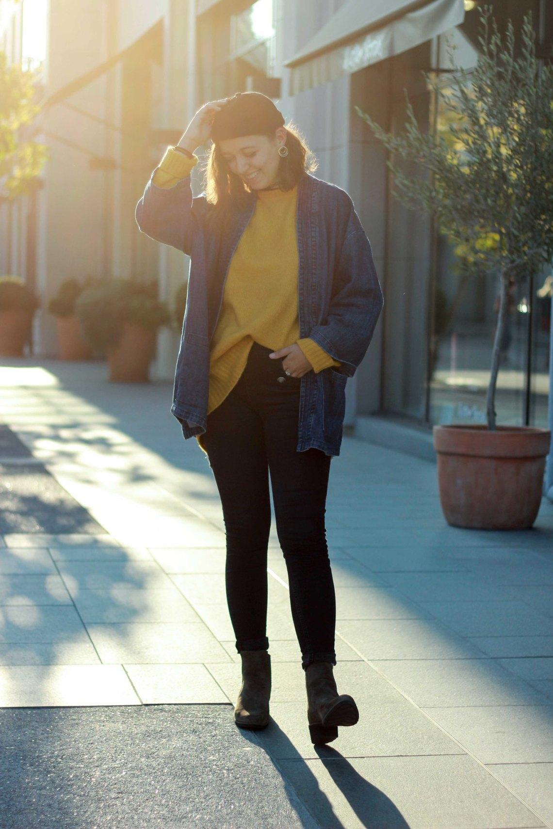 Kimono en jean