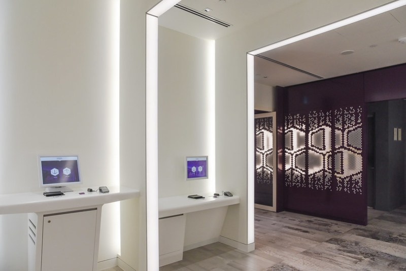 check-in counters at yotel singapore