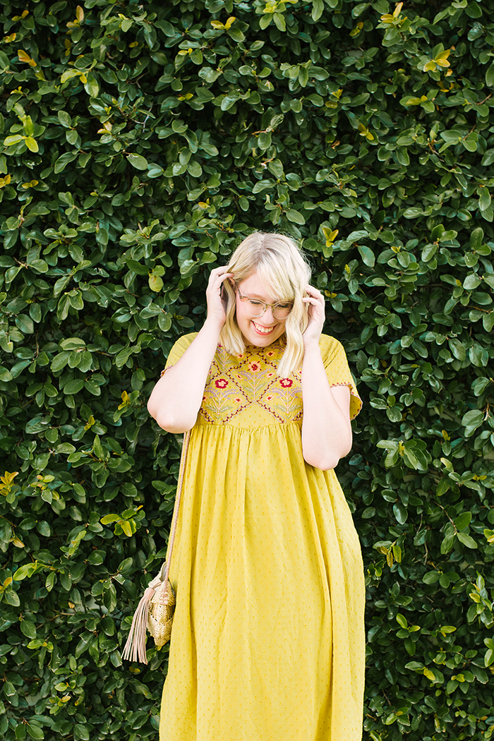 austin fashion blogger writes like a girl yellow zara dress9