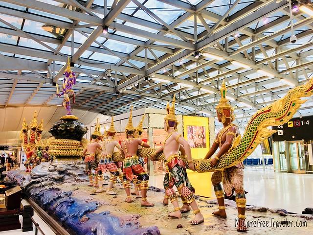 Suvarnabhumi Airport (BKK) in Bangkok, Thailand