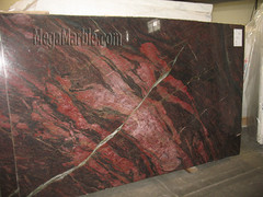 Fire Red Quartzite Countertop Slabs A