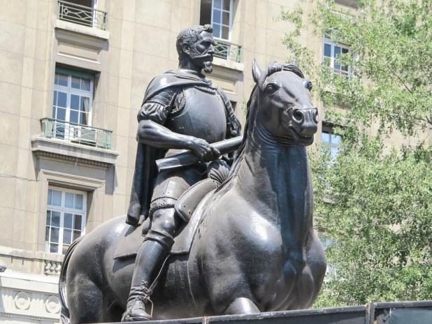 Estatua de Pedro de Valdivia