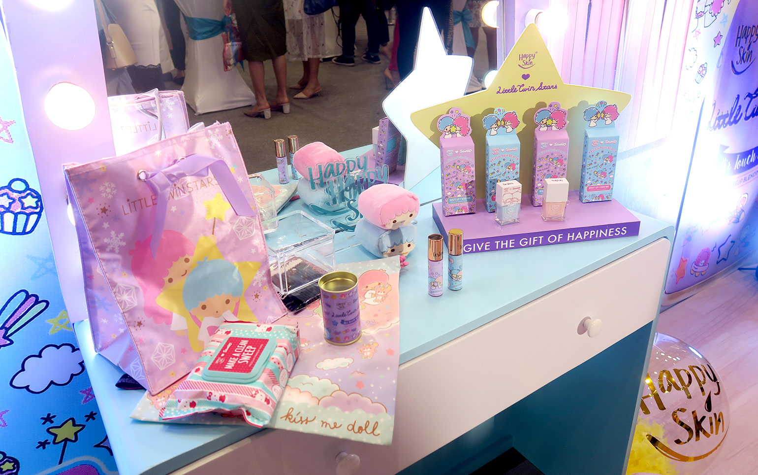 2 Happy Skin x Sanrio Characters - Grand Launch, Preview, Swatches - Gen-zel - She Sings Beauty