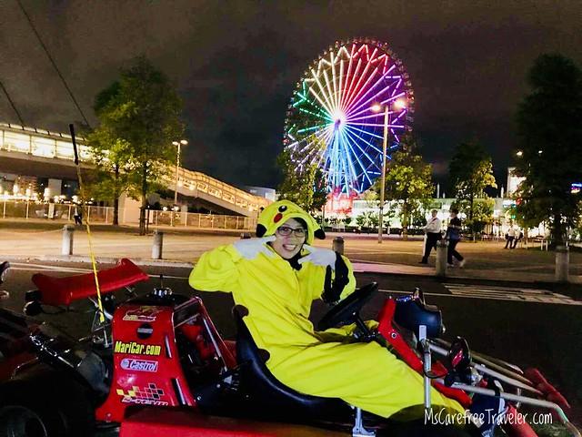 Go-Kart through Tokyo