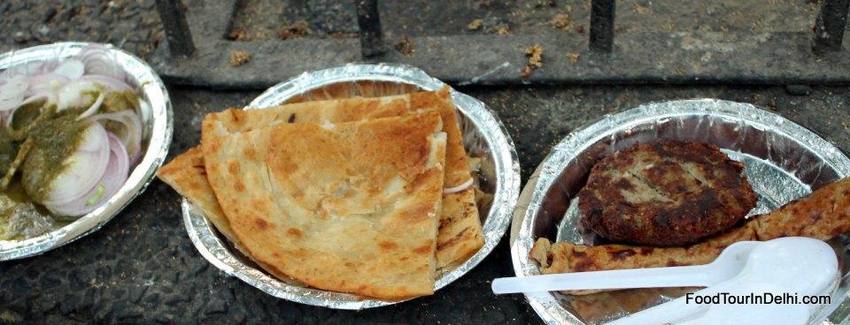 Varki Parantha, Galaouti and Kakori kababs