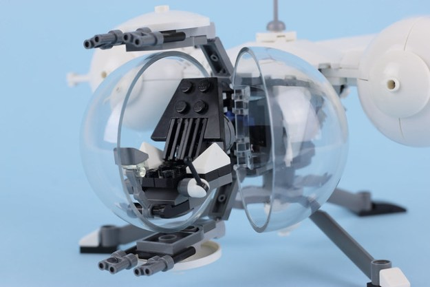 Lego Bubble Ship, Oblivion