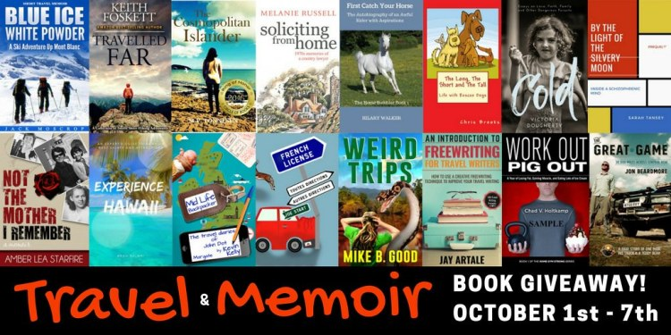 Travel  & Memoir Book Giveaway