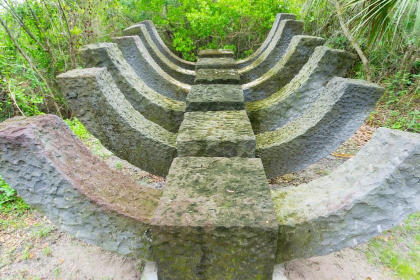 """Keel"" - Preview - Peace River Botanical & Sculpture Gardens, Punta Gorda, Fla., July 2017"