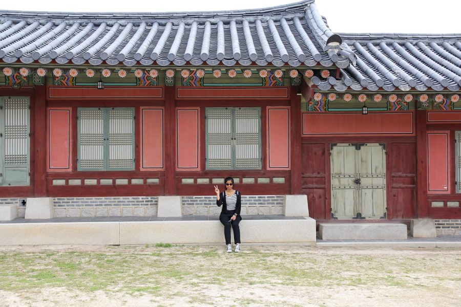 teaso à gyeongbokgung
