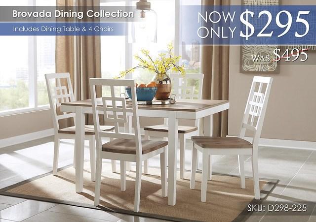 Brovada Dining Set D298-225-R40182