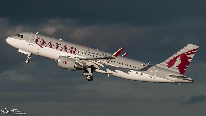 A7-LAH A320SL QATAR