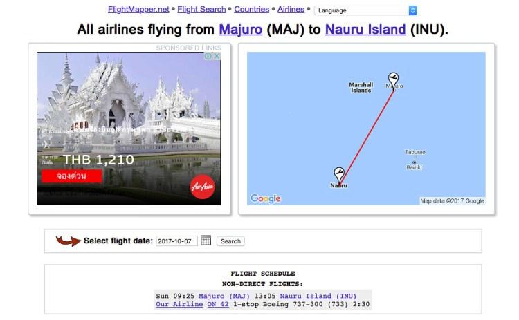 Majuro-Nauru