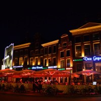 Travel: Holland - Eating and drinking in Groningen & Groningen by night