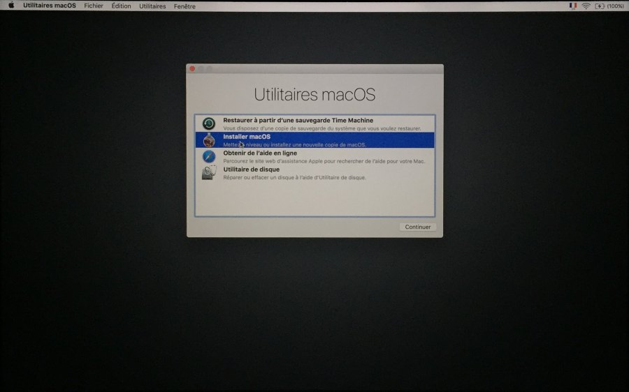Installation mac OS Etape 00008