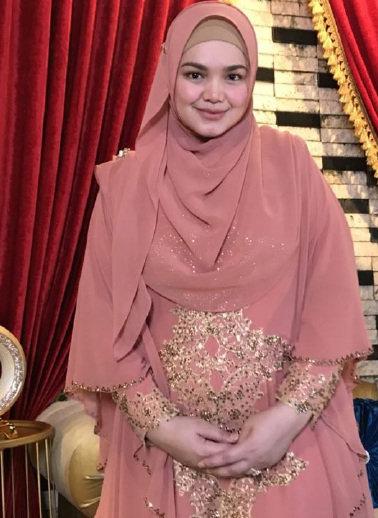 Penyanyi Dato' Siti Nurhaliza Umum Hamil 4 Bulan