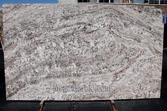 White Torroncino Granite slabs for countertop