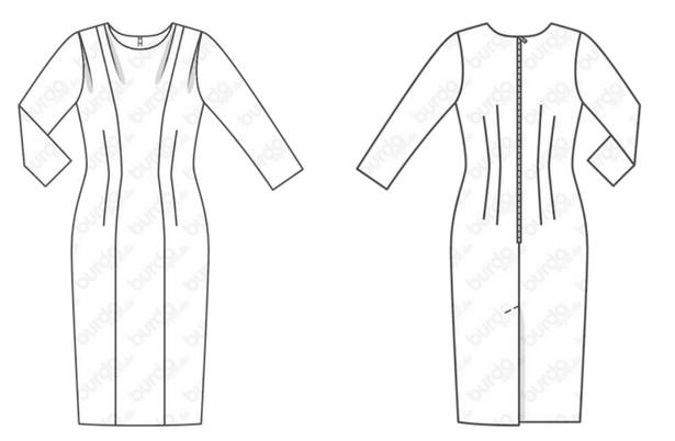 TBT: Retro Dress Pattern from 1957!