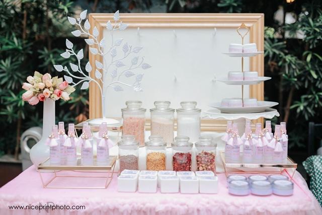 pauleen luna pretty in pink baby shower souvenir