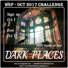 WEP DARK PLACES Badge #wepff