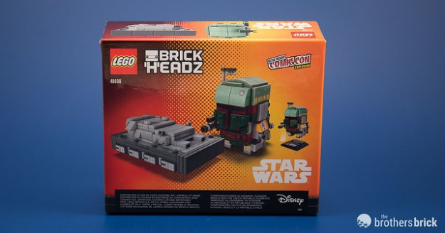 New York Comic Con Exclusive Star Wars BrickHeadz
