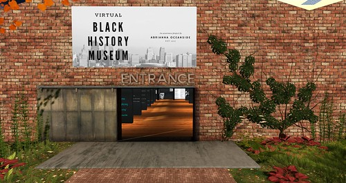 Black History Museum Entrance