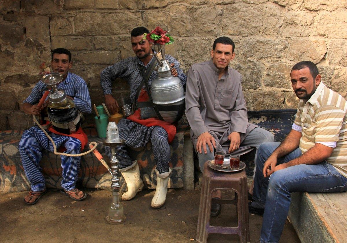 Karkade is a popular drink in Egypt