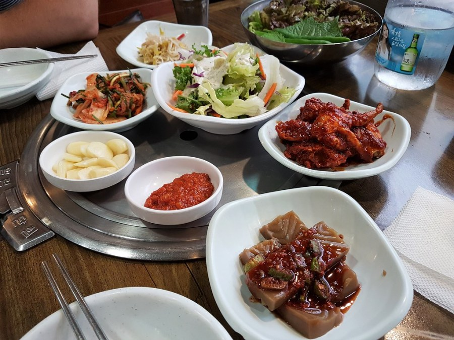 banchan resto coréen
