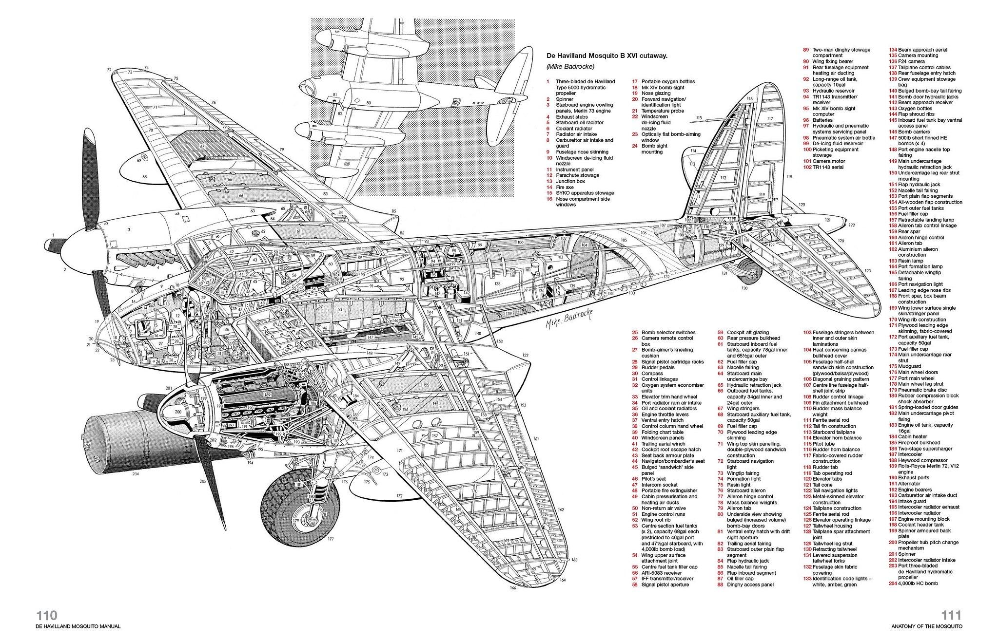 1 48 Tamiya Mosquito Fb Mk Vi 418 Squadron Lou Luma