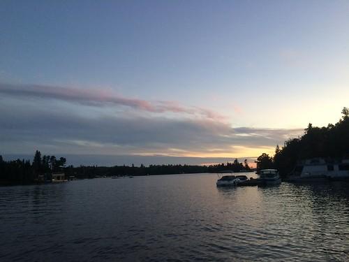 Kenora Lake of the Woods sunset