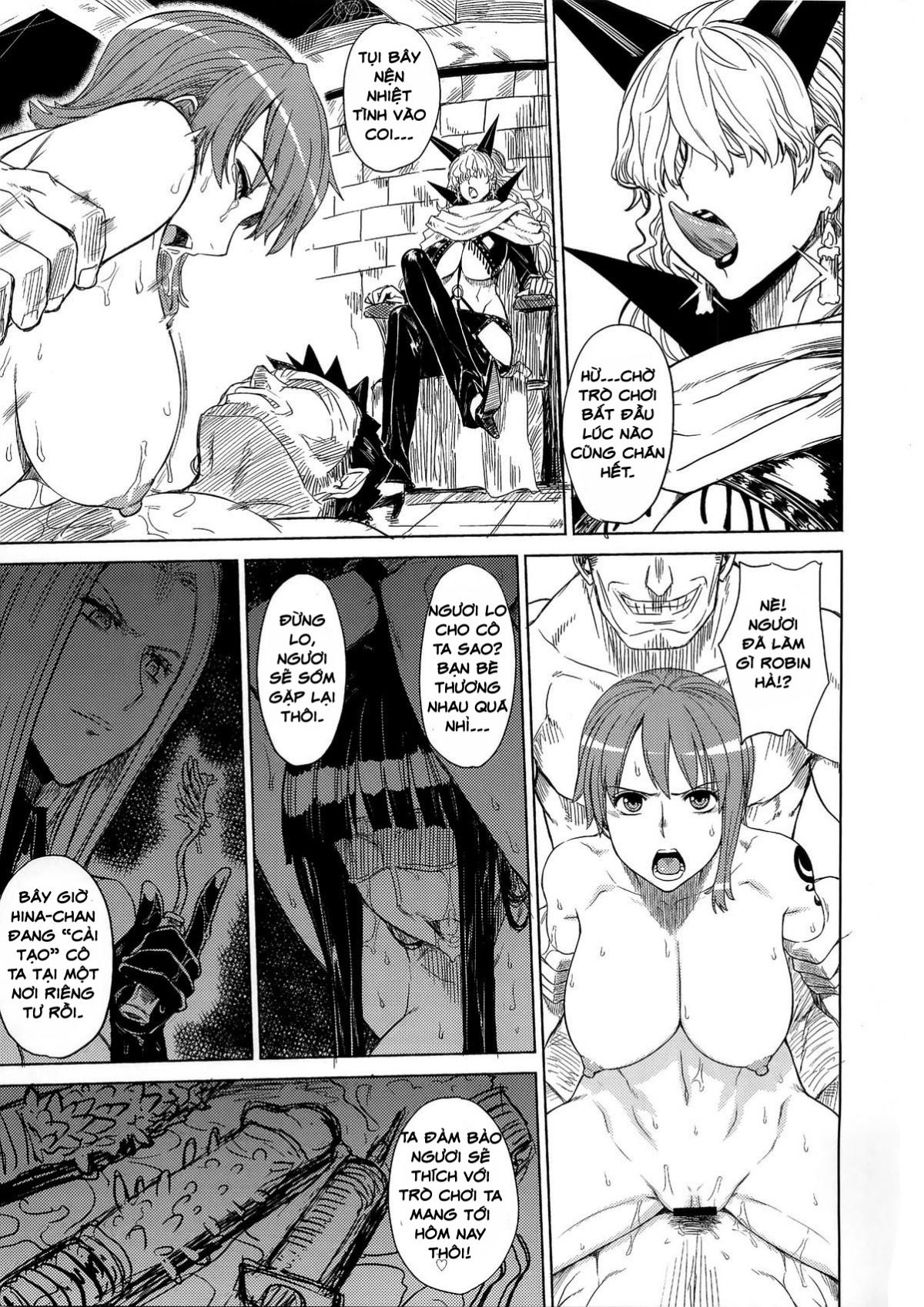Hình ảnh  in One Piece Hentai Robin Và Nami Bị Địt