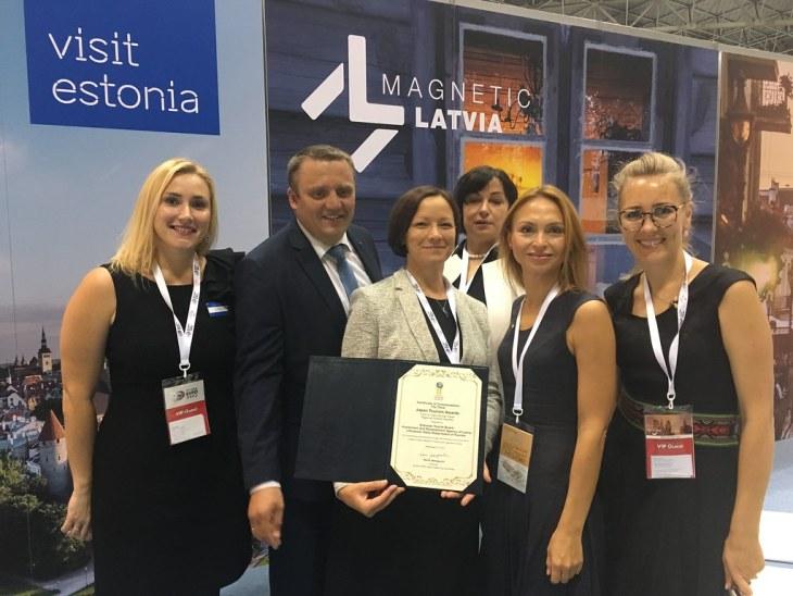 Eesti, Läti ja Leedu pälvisid Jaapanilt turismiauhinna parima piirkondliku koostöö kategoorias