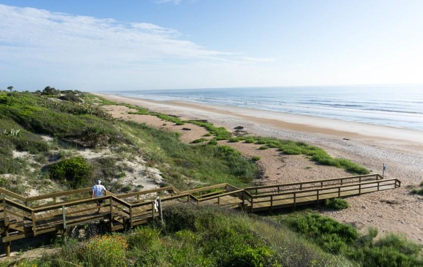 Beach at Guana Tolomato Matanzas National Estuarine Research Reserve - Dog-Friendly St. Augustine, Fla., July 15 - 16, 2017