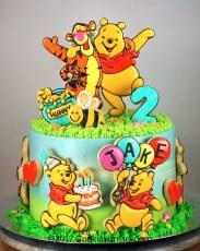 Winnie cake for Jake