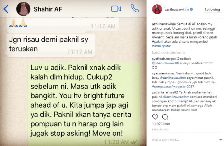 Final AF Megastar, Shahir Tak Mahu Hampakan Peminat