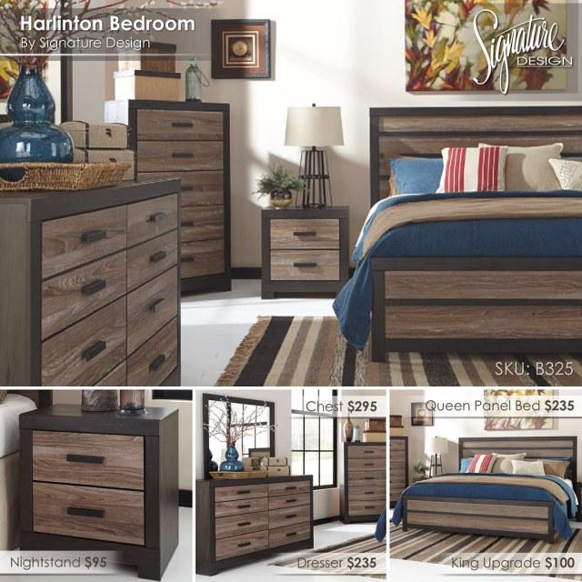 B325 Harlinton Bedroom Collage