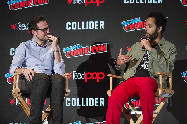 Jesse David Fox and Wyatt Cenac