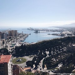 #malaga #fromabove #shotoniphone #viveandalucia #andalucia #travel #wanderlust #guardiantravelsnaps #tourism #spain #loves_spain #travelgram #espagna #ig_spain #igtravel #viveandalucia #visitspain #exploring #bbctravel #lonelyplanet #vsco #vscocam