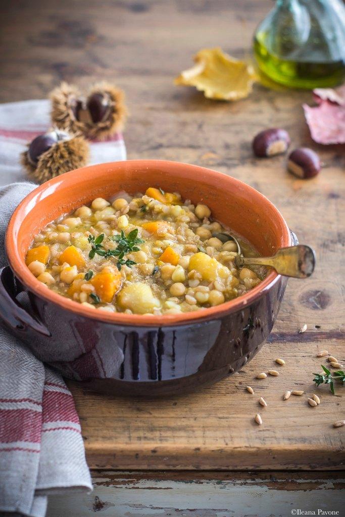 Zuppa di farro e castagne_2