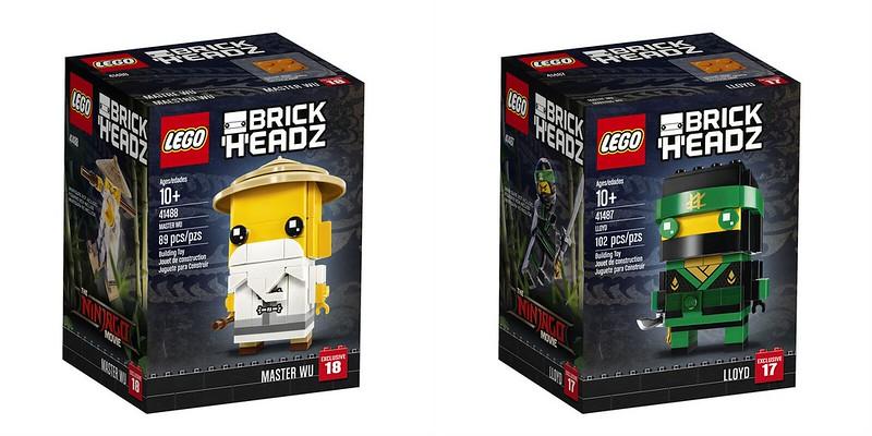 Ninjago BrickHeadz - izgled kutije