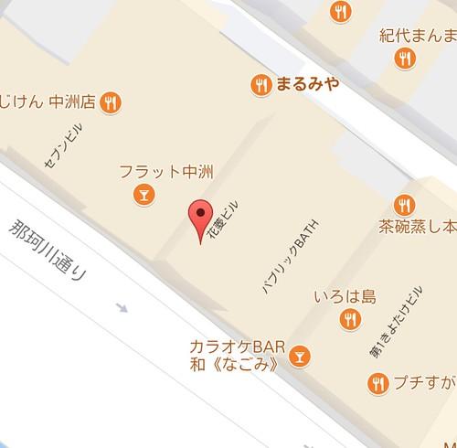 Googleマップの移転15