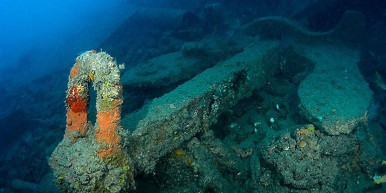 SS Coolidge Wreck diving