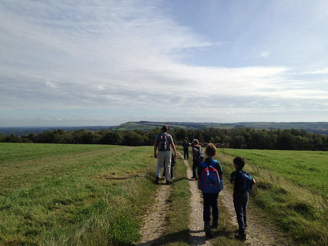 Cubs Arundel Hike-over Sept 2017