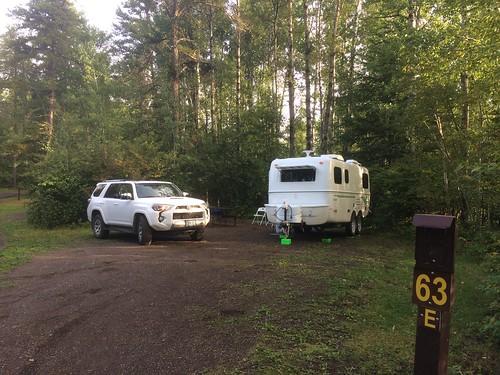 Kakabeca falls camping