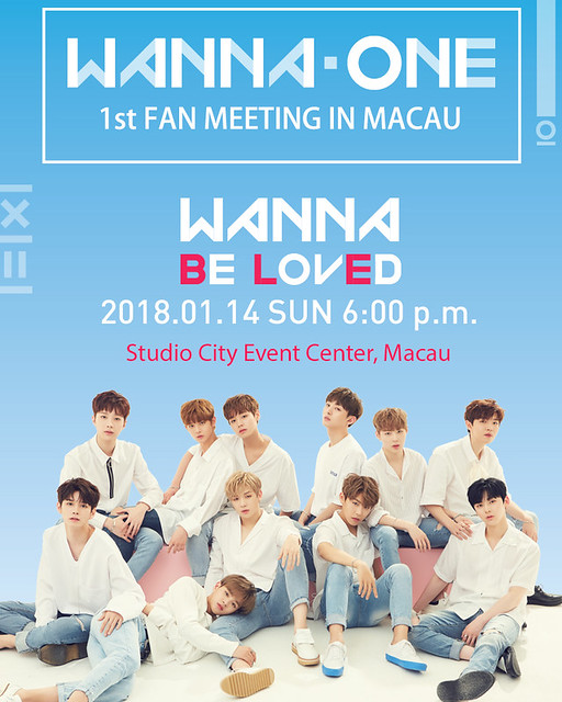 WannaOne 1st Fan Meeting in Macau